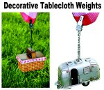 Rome Industries Picnic Tablecloth Weights